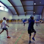 Inter Agency Games Badminton im Sportcenter Donaucity