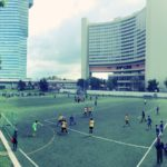 Inter Agency Games Football im Sportcenter Donaucity