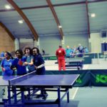 Inter Agency Games Table Tennis im Sportcenter Donaucity